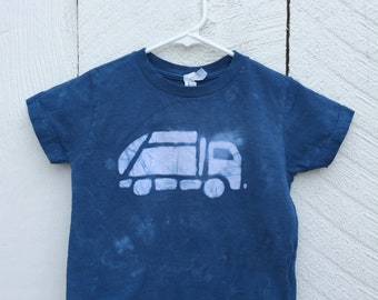 Garbage Truck Shirt, Kids Truck Shirt, Boys Garbage Truck Shirt, Navy Blue Truck Shirt, Girls Truck Shirt, Boys Truck Shirt (3T)