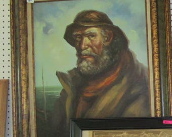 Sea Captain Oil Painting