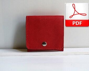 Wallet Patterns Tutorials - Wallet Pattern to Make This Minimalist Wallet