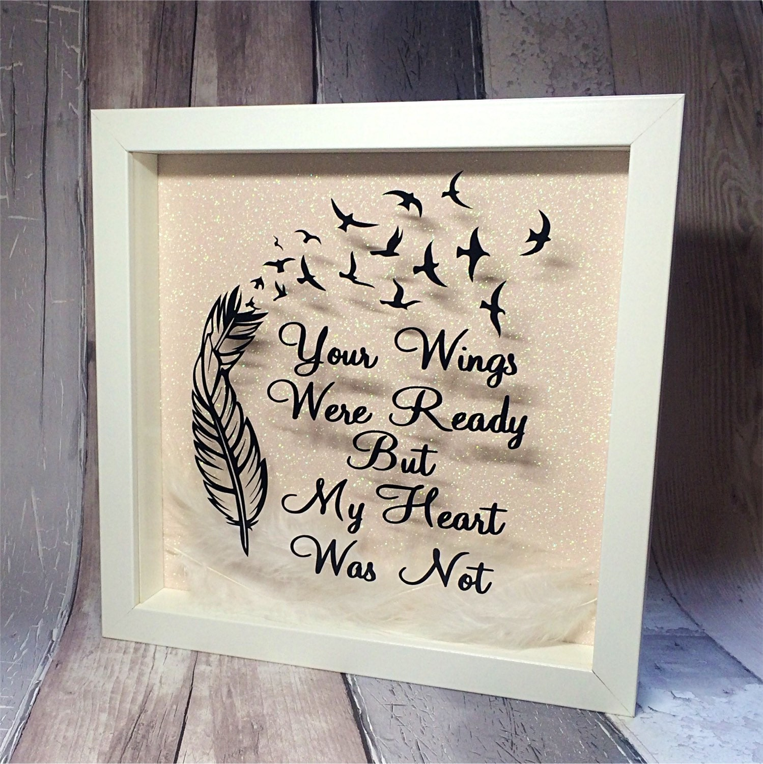 Picture And Memory Quotes: Inspirational Quote In Memory Of Memorial Box Picture Box
