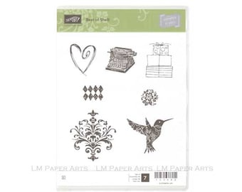 Stampin Up Best of Shelli Clear Mount Stamp set
