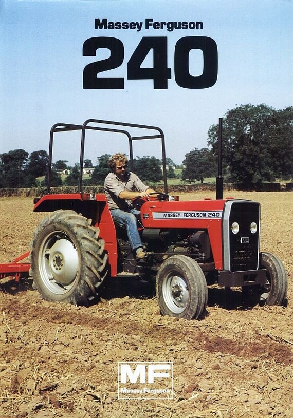 massey ferguson mf 240 tractor parts manual 135pgs for mf240