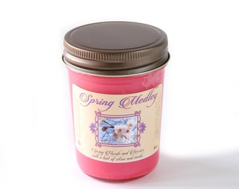 Spring Medley - Natural Soy Candle - 8 oz