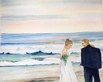 11 x 14 Custom Wedding portrait