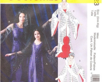 McCall's 4623 Misses' and Girl's Gothic Costume Pattern