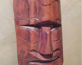 Tribal Mask - wooden