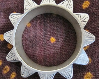 Rare Traditional Berber Silver Bracelet 300 gr South Marocco