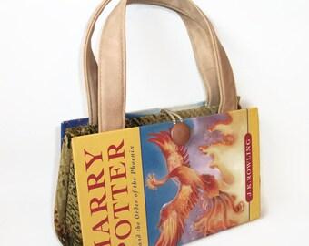 Harry Potter Book Purse Order of Phoenix, Handbag, Clutch, Fashion Accessories,