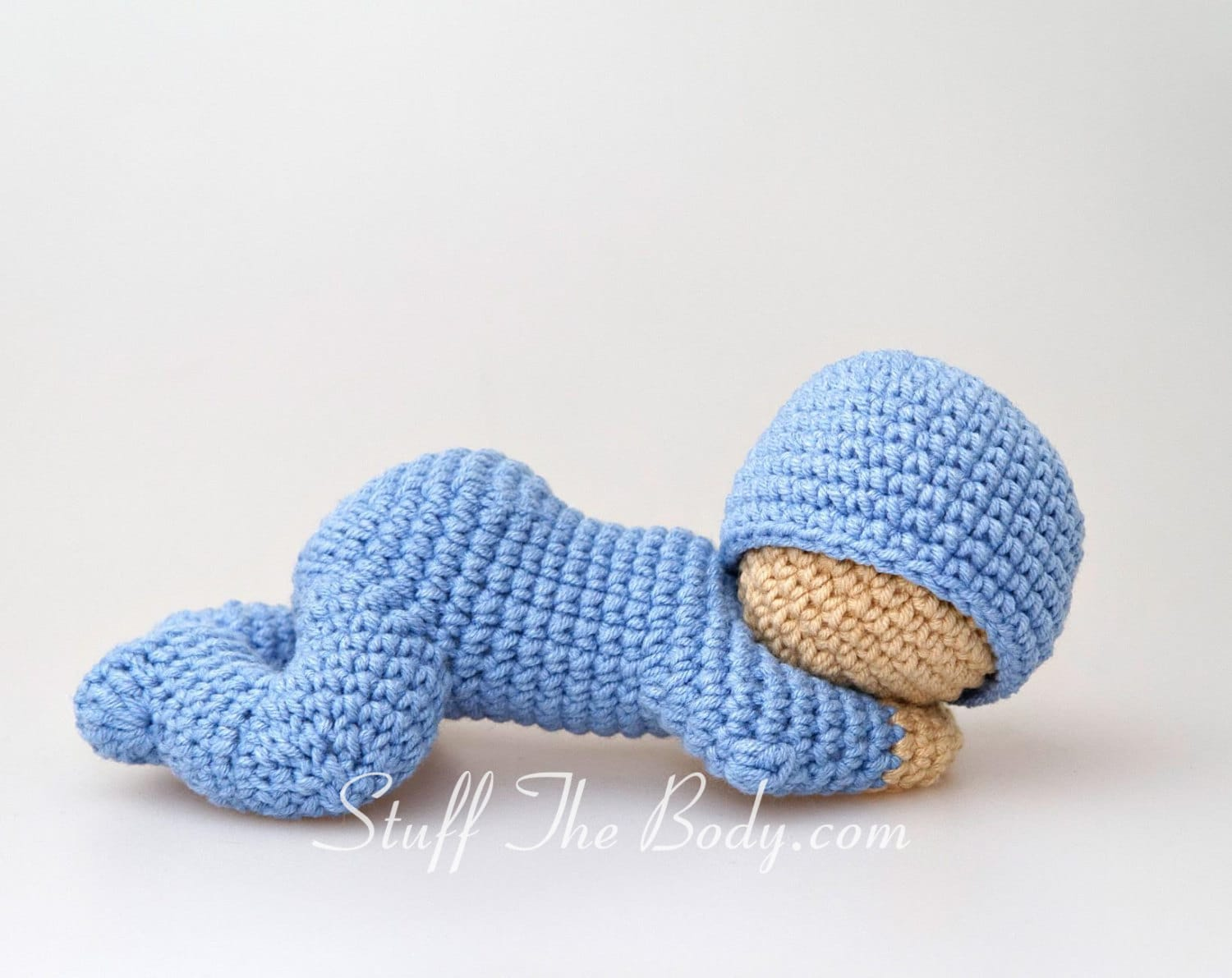 Amigurumi Baby : Sleeping baby amigurumi pattern sleepy doll crochet pattern