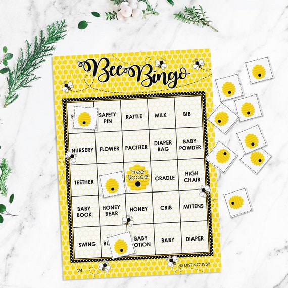 Bumble Bee Baby Shower Game What Will It Bee Gender Reveal