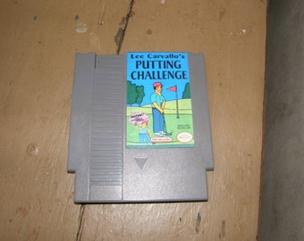 Lee Carvallo's Putting Challenge Real Working Nes Cart The Simpsons!
