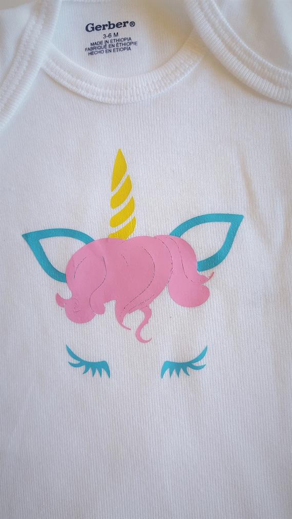Sweet Unicorn Baby Bodysuit
