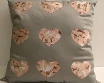 Heart Pillow Sewing Pattern PDF File