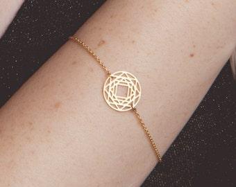 Yoga Bracelet fertility Bracelet, Sun Bracelet Fertility Jewelry Yoga Jewelry Bridesmaids Jewelry Gift Lucky Jewelry, Delicate Gold Bracelet