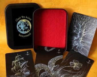 Clair De Lune Lenormand Deck - divination, oracle deck, Lenormand deck