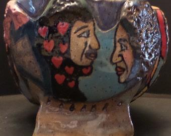 Yarn And Mosaic Bowl