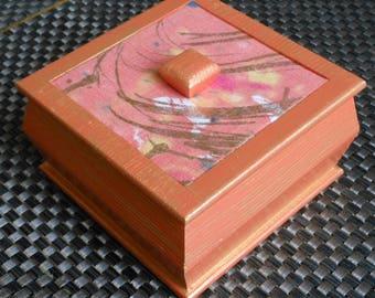 Jewellery/trinket/decorative/storage handmade box