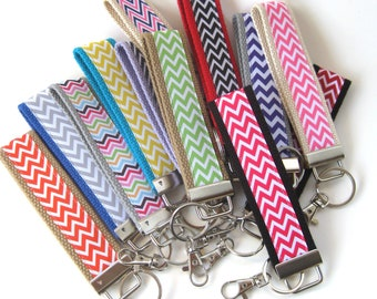 30 KEY FOBS Bulk Gift Idea - Employee Appreciation Gift - Teacher Appreciation - Womens Key Fob- Womens Gift for Her- Employee Gift Under 10