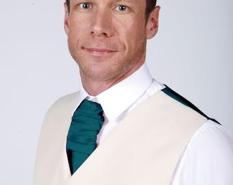 Teal Men's Cravat by Matchimony