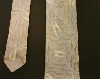 Vintage 1950's-60's Elegant Silk Necktie