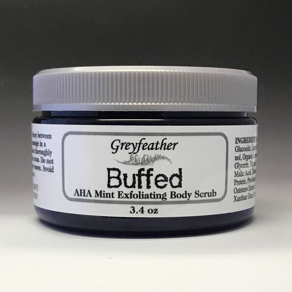 Buffed AHA Exfoliating Body Scrub!