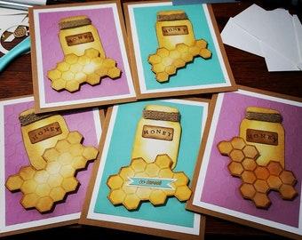 Honey Handmade Cards