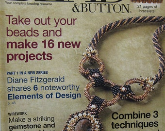 Bead and Button Magazine Diane Fitzgerald Shares 6 Noteworthy Elements of Design February 2009 Issue
