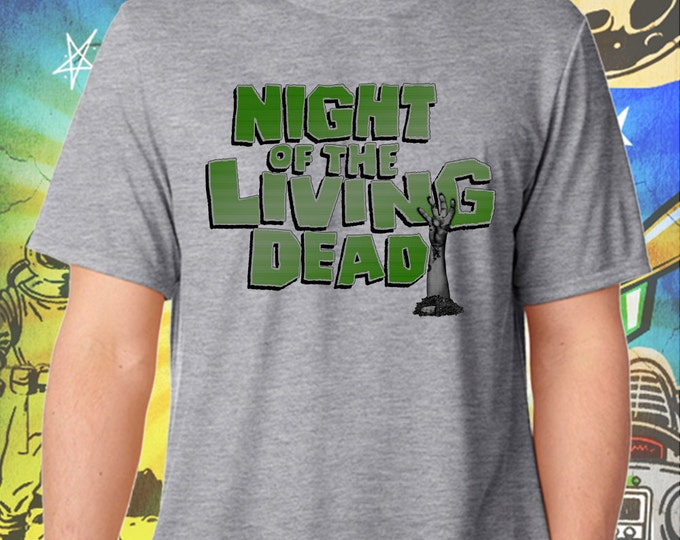 Night of the Living Dead / George Romero's Zombies / Men's Gray Performance T-Shirt