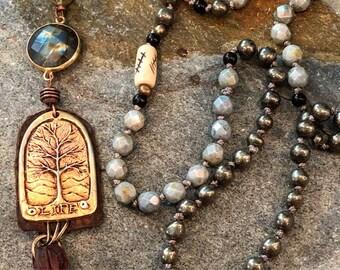 Tree of Life 108 Bead Mala