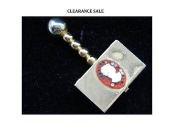 Antique Cameo Snuff Box - Pill Box - CLEARANCE SALE