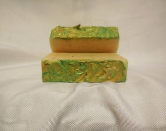 Peppermint Handmade Goats Milk Soap