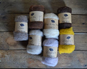 French wool roving