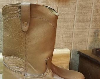 Vintage Walker Mens Western cowboy Boots 9M