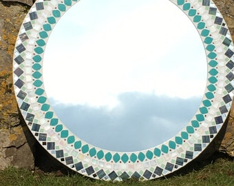 Mosaic Mirror (made to order)