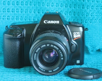 Canon EOS Rebel Camera with Canon EF mount 35-80mm lens Working