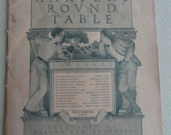 Harper's  Round Table Magazine 1897 Vol. 1 No. 1 New Series