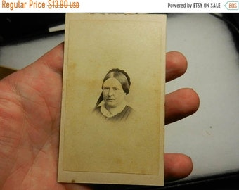 Spring Sale Vintage Civil War era CDV Photograph with Tax Stamp
