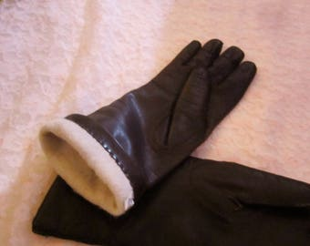 Soft Luxury Leather Gloves Made In Italy Winter Gloves Leather Gloves Dress Gloves Italian Leather Gloves Leather Gloves For Her Fully Lined