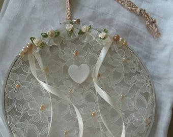 Tambour lace holder