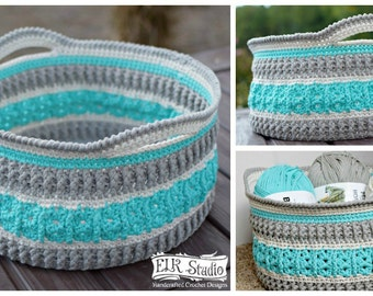 Sea Glass Basket Pattern