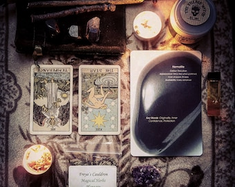 2 Card Tarot + 1 Card Crystal Deck | Reading | Artistic Photograph and PDF Included -Sent to your email | Loving | Personal | Intuitive