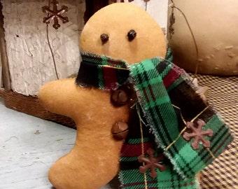 Primitive Gingerbread Man, Hadmade