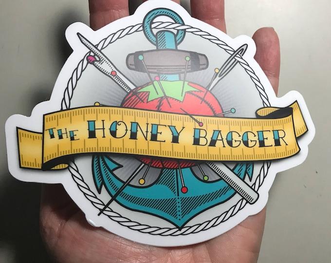 Large Honey Bagger Vinyl Sticker