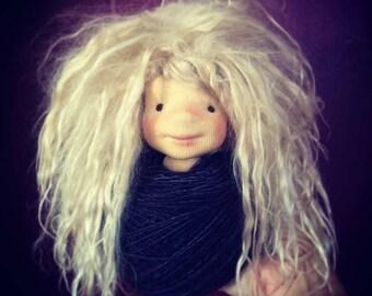 "Custom Fiber Art Doll 13"" made to order first payment"