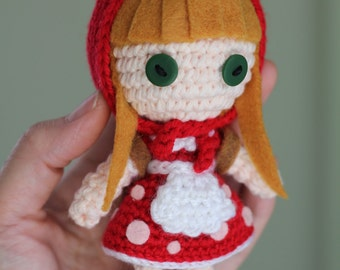 PATTERN: Red Riding Annie from League of Legends Crochet Amigurumi Doll