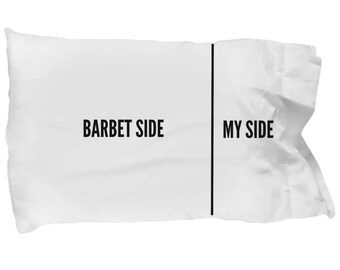 Barbet Pillow Case - Funny Barbet Pillowcase - Barbet Gifts - Barbet Side My Side - Barbet Dog