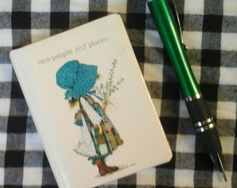 Holly Hobbie Address Book Phone Book