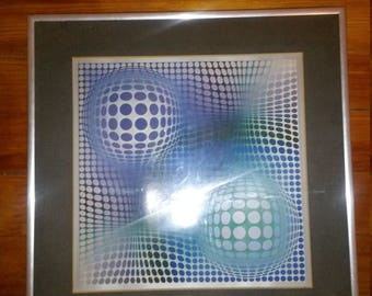VASARELY ART REPRODUCTION