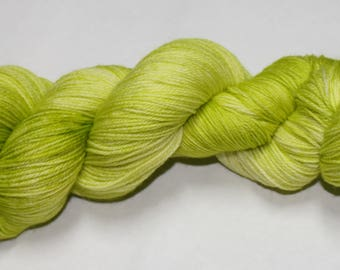 Celery Hand Dyed Sock Yarn