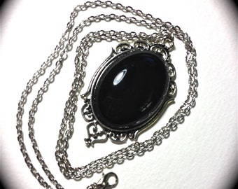 Jet black Necklace